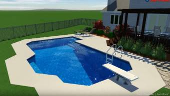 Builder of Custom Inground Swimming Pools in the far western ...