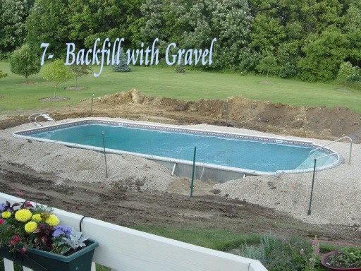 backfilling around pool