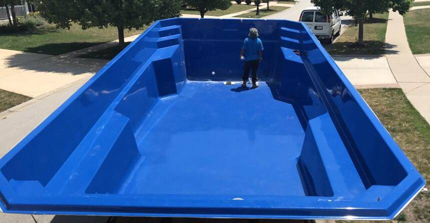 Swim Shack Inc. receives Barrier Reef 29 foot pool