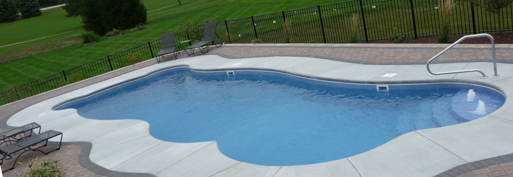 Colors for your custom fiberglass inground swimming pool