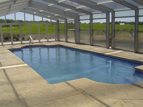 swimming pool pictures - photos of inground pools northern il