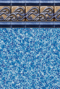 Atlantic Tide Tile Swimming Pool Liner