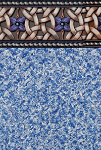 Celtic Garden Tile Swimming Pool Liner