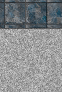 Gray Sonata Tile Swimming Pool Liner