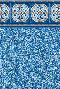 Hampton Tile Swimming Pool Liner