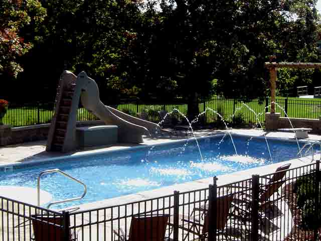 Pool Slides - Swimming Pool Slides - Water Slides