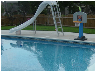 Pool Slides available from Swim Shack